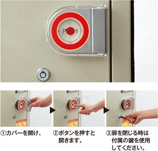 エレベーター用防災キャビネット Sタイプ