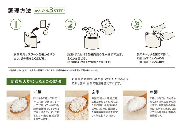 アルファ化米 作り方