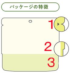 アルファ化米 パッケージの特徴