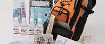 【非常用持出袋】15品目35点セット 家族3~4人用 お得な非常用持ち出し袋!!通販特価!