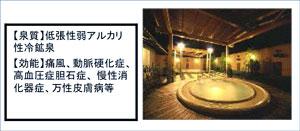 島根県金城温泉水