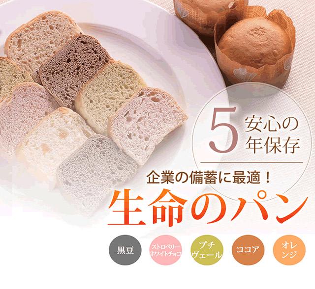 防災用備蓄 保存食 生命のパン サブ画像