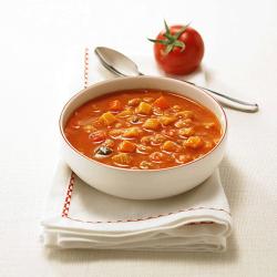 野菜たっぷりスープ トマト