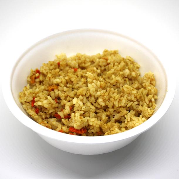アルファ化米盛付例カレーご飯