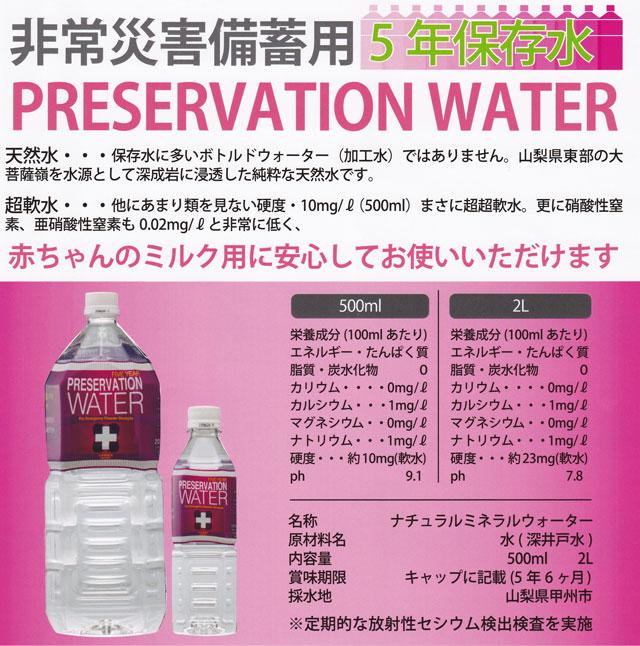 ティープラス5年保存水